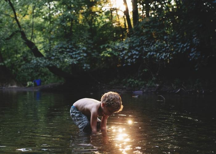 Summertime Creekin by Ali Deck