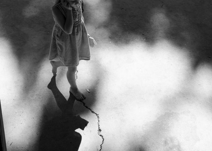 Beyond the Cracks by Morgan Ellis