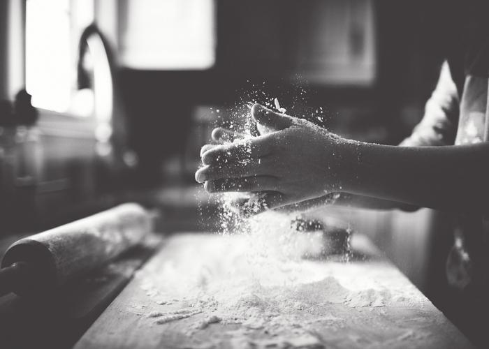 Baker's Hands by Lisa Furey