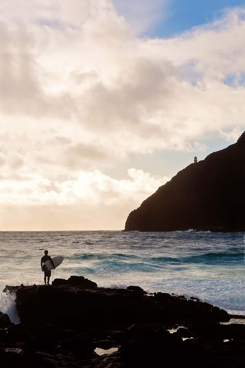 Makapu'u Surfer by Christy Johnson