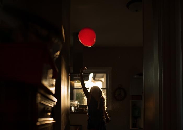 Le Ballon Rouge by Erin Konrath