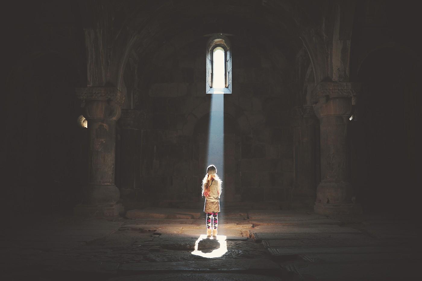 Church Light, Armenia by Kirsty Larmour