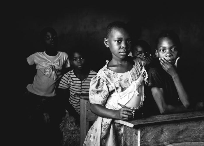 Mozambican Schoolgirl by Jessie Wixon