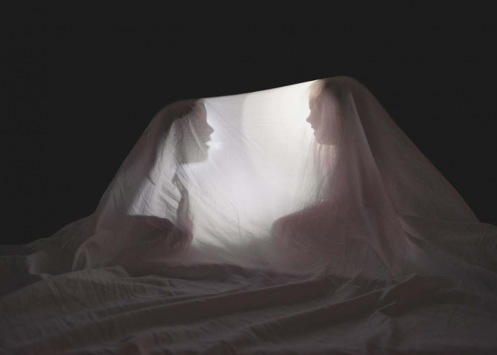 Giggling By Flashlight by Allison Zercher