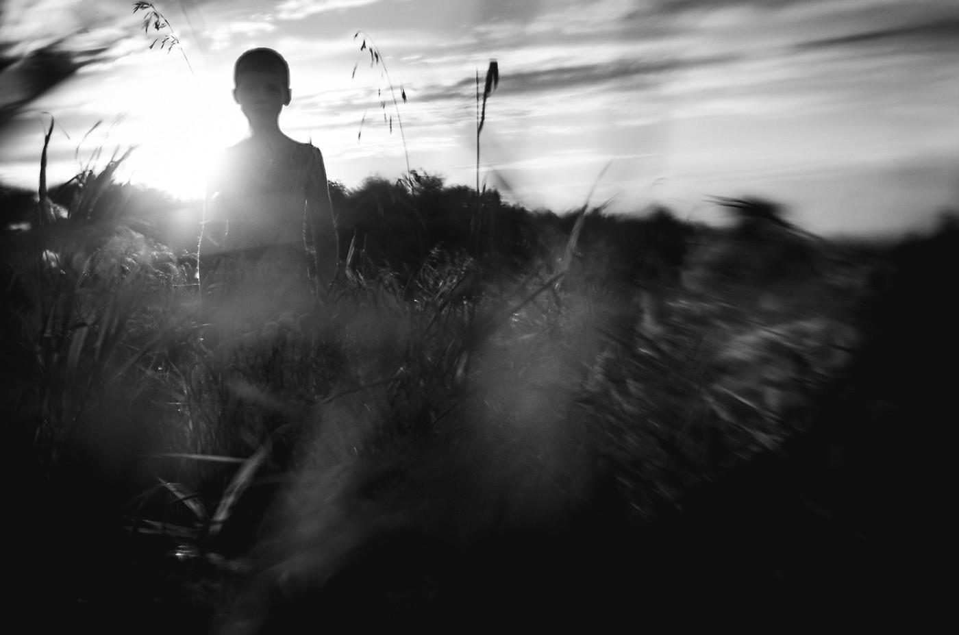Boy in the Field by Kelly Jacobi