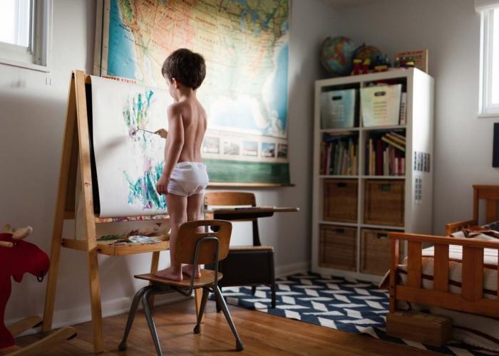 Little Artist by Maria Manco