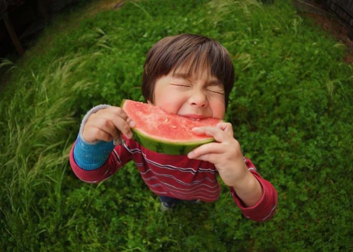 Sweet Taste of Summer by Laura Morita
