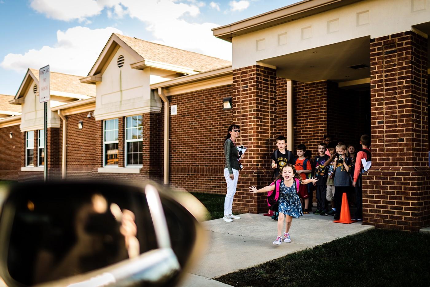 After School Pickup by Jennifer Nobriga