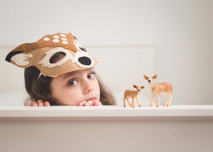 Deer One by Katy Wehbeh
