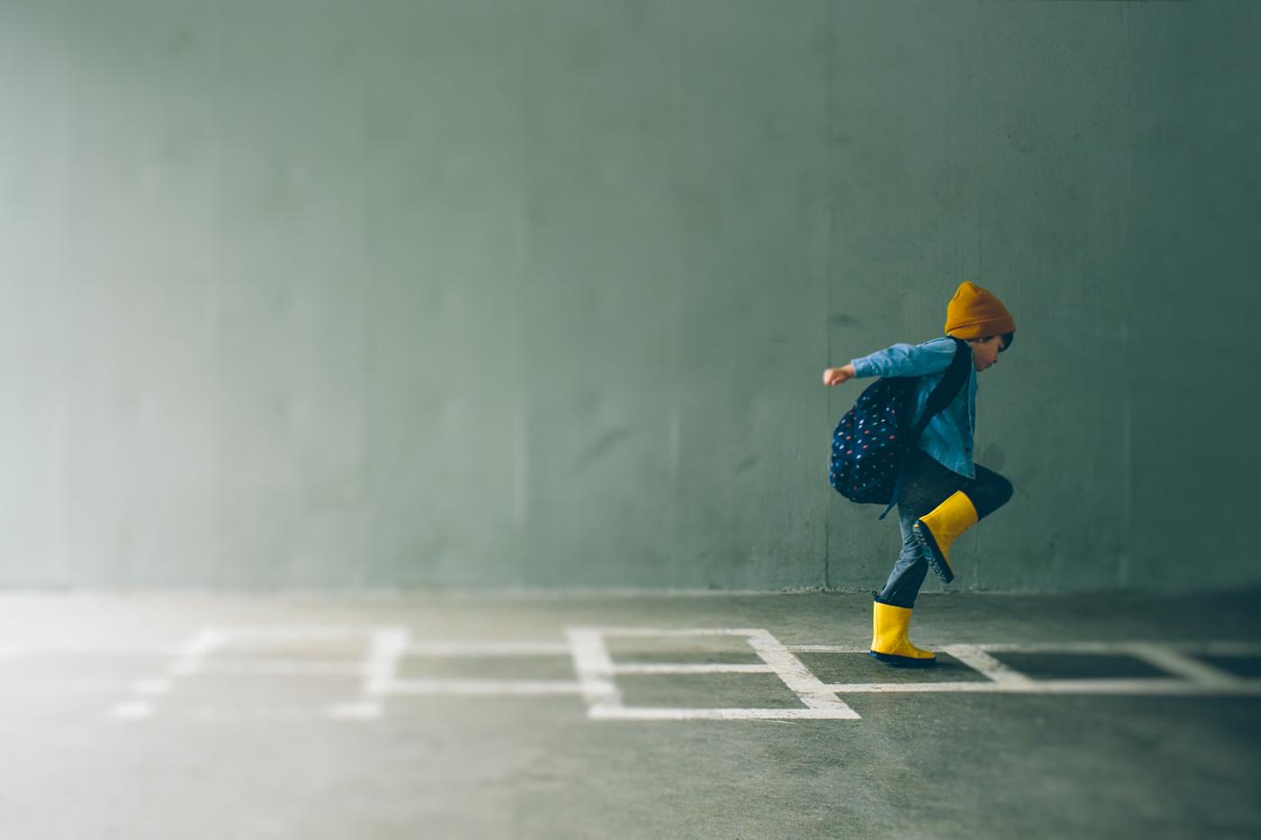 'Hopscotch' by Cassandra Casley