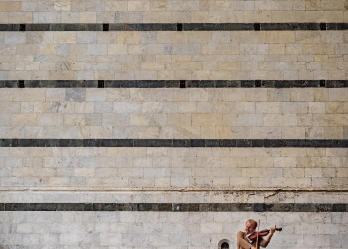 'Violinist' by Kathleen Cashman