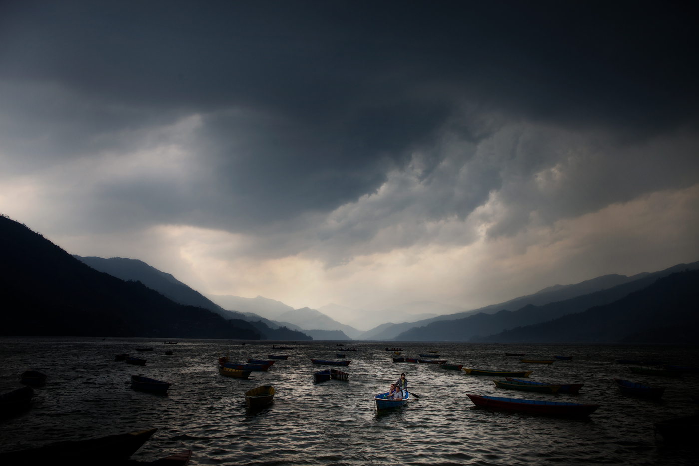 'Nepal Storm Rolling In' by Sarah DiCicco