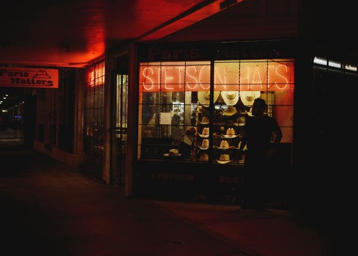 'Break Under the Stetson Lights' by Kellie Pecoraro