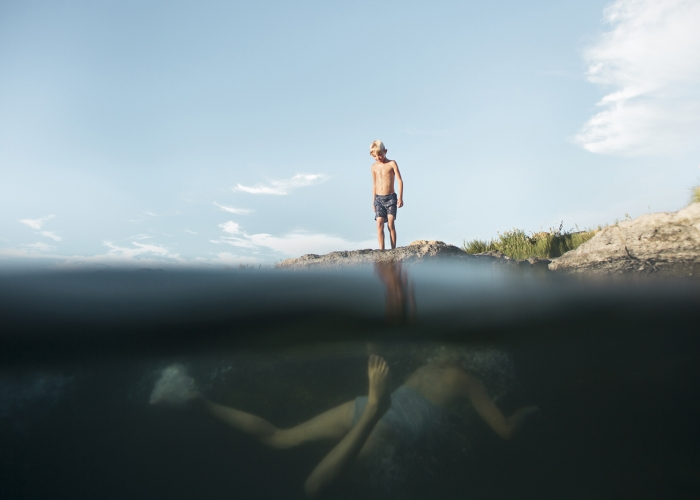 'Above and Below the Surface' by Summer Murdock