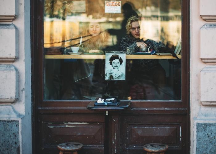 'Coffee in Salzburg' by Emma Wood