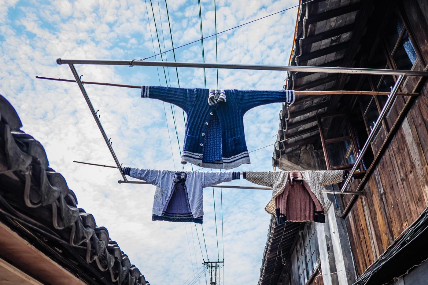 'Fengjing Laundry' by Brenda McKenney'
