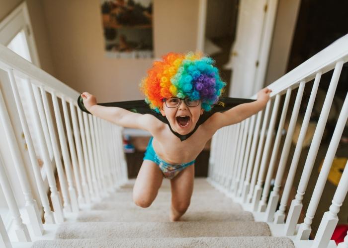 Peyton_Clowning Around