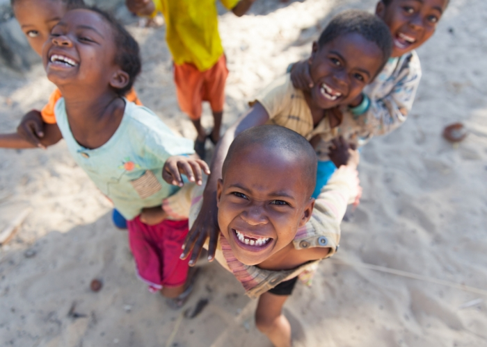 Wixon_Happy Anjajavy (Madagascar) Village Kids