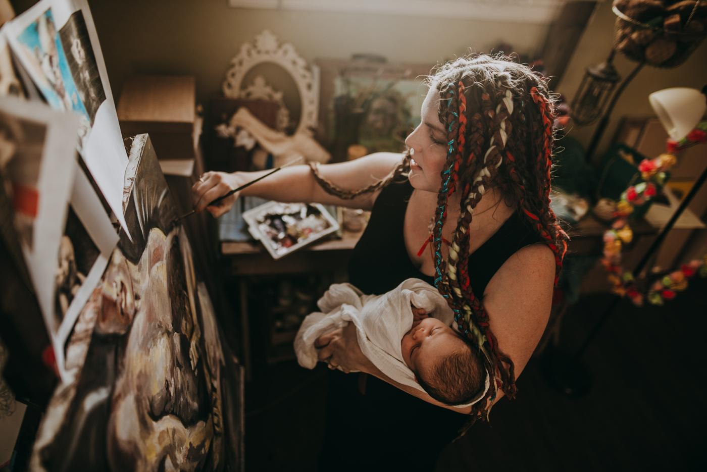 JensenL-ArtMotherhood-Womanhood