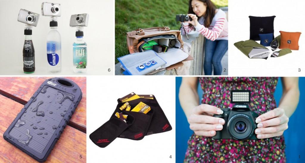 traveling camera gear