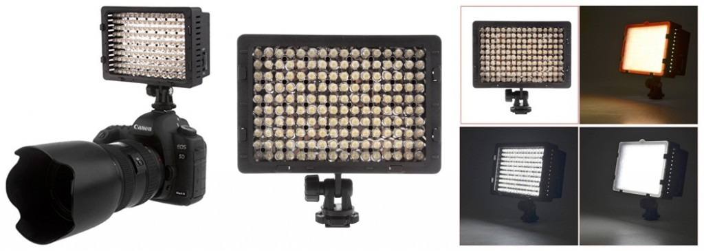 newer led video light for photography