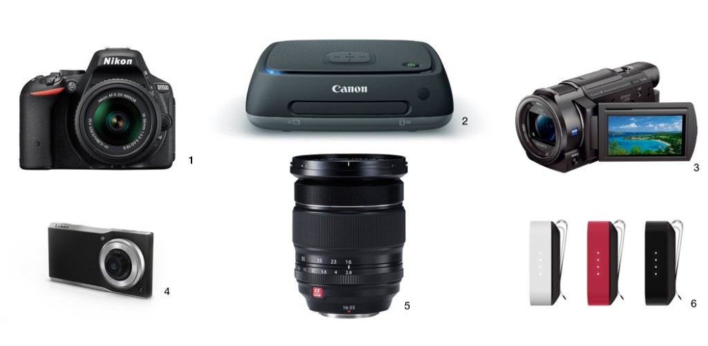 new camera gear from CES