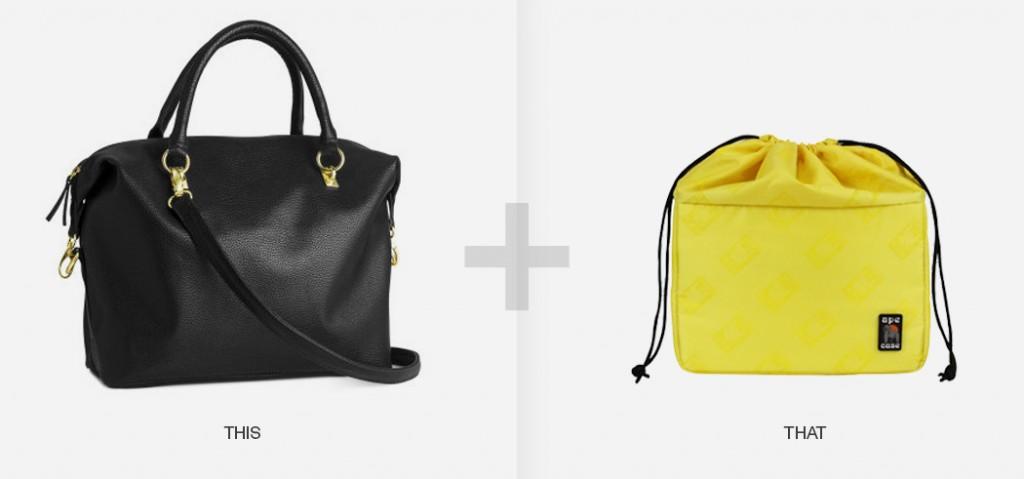 choosing between camera bag or purse