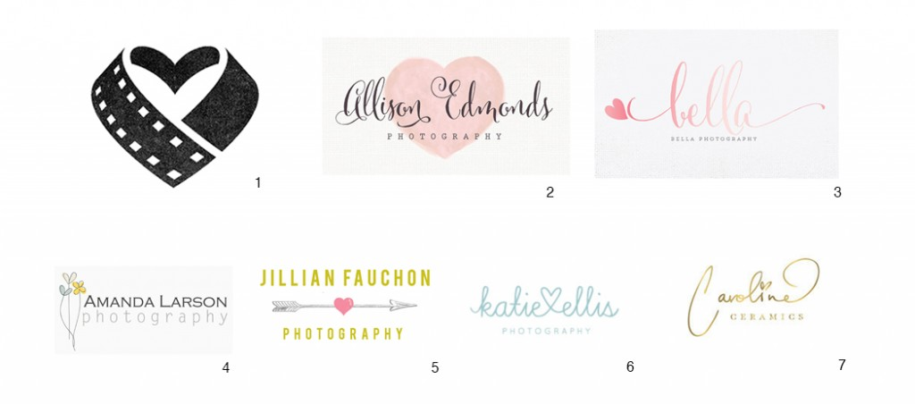 logo designs with hearts