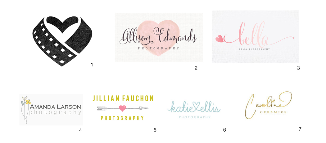 Heart worthy logo designs
