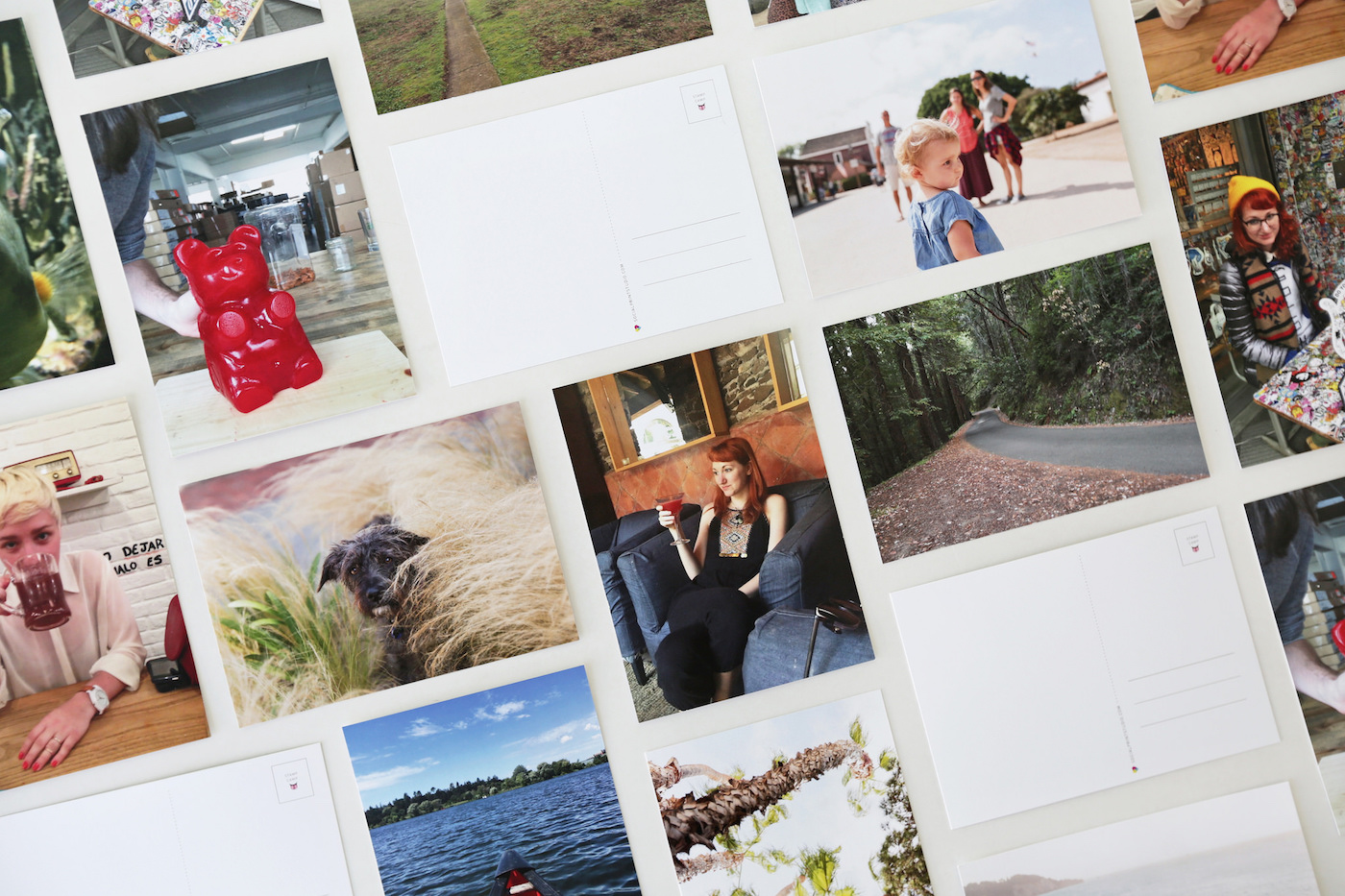 Social Print Studio Postcard