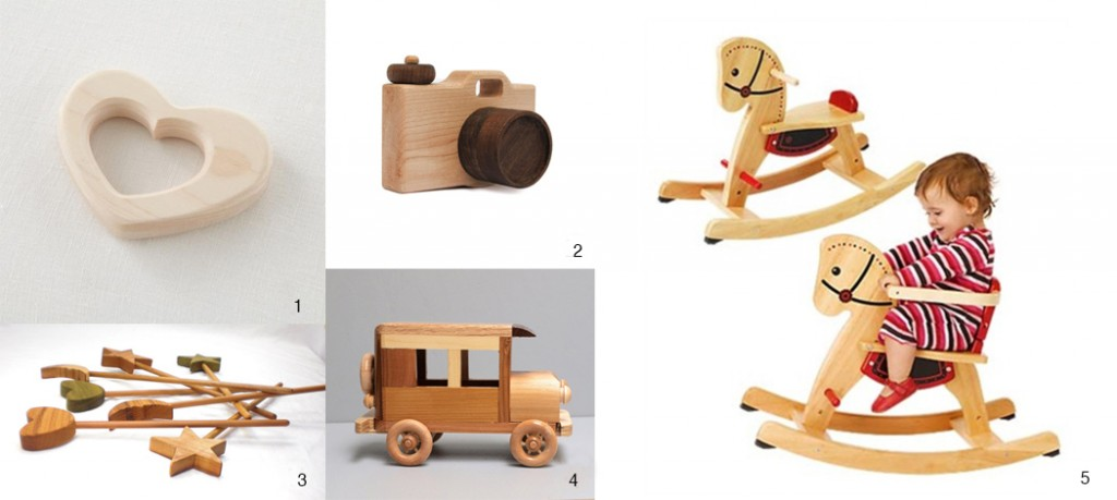 wood toys for photographing children