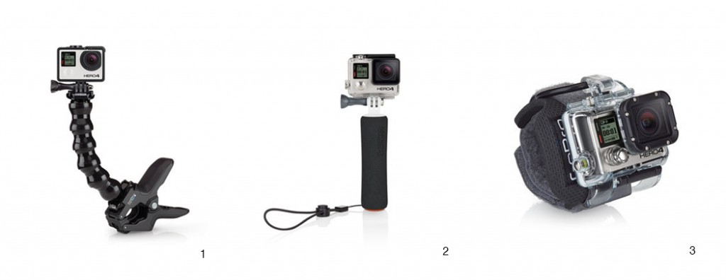 mounts for GoPro