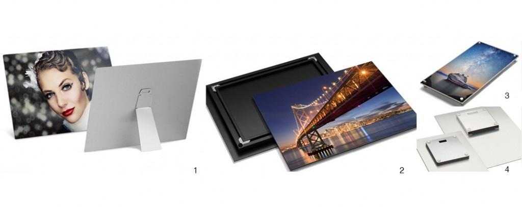 metal mounted prints