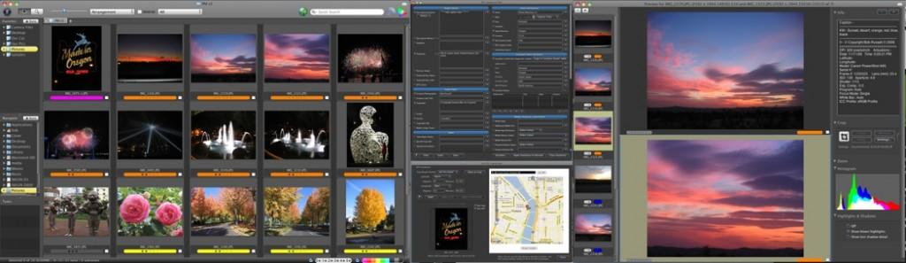 RAW editing software