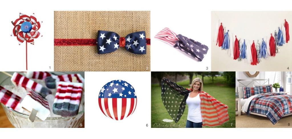 Patriotic props