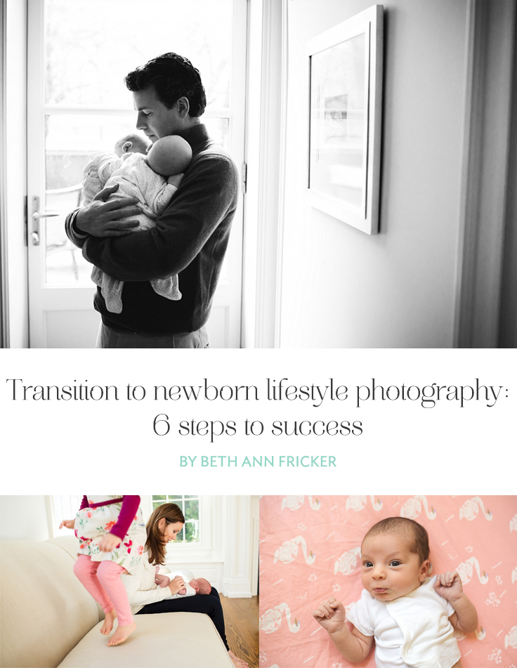 Moving your business from posed to newborn lifestyle photography can be intimidating. Here are a few tips to help ease the transition.
