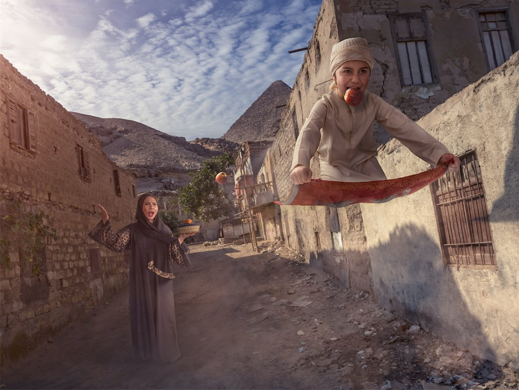 adrian sommeling flying carpet
