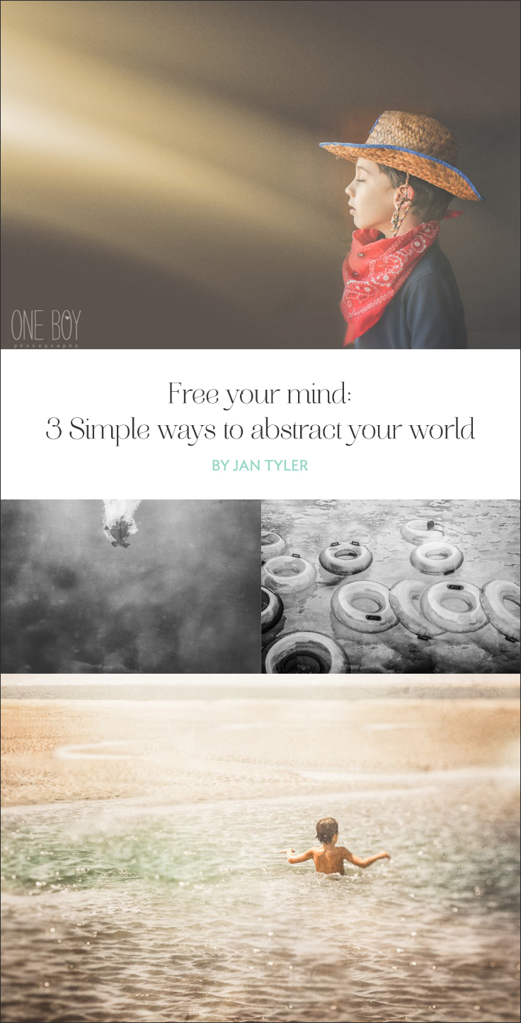 Taking a slight break from reality gives you the opportunity to immerse yourself in a new world. Here are 3 simple ways to abstract your world.
