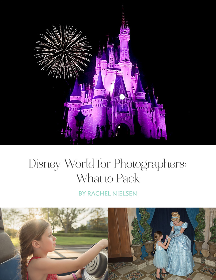 Disney world for photographers doesn't mean you have to take all your gear. Here are some helpful tips when packing for your own trip to Disney.
