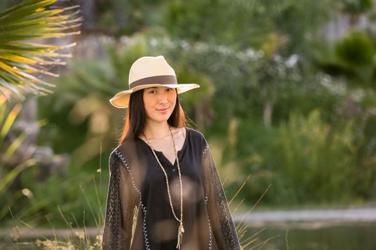 female portrait outdoors by Kristin Dokoza
