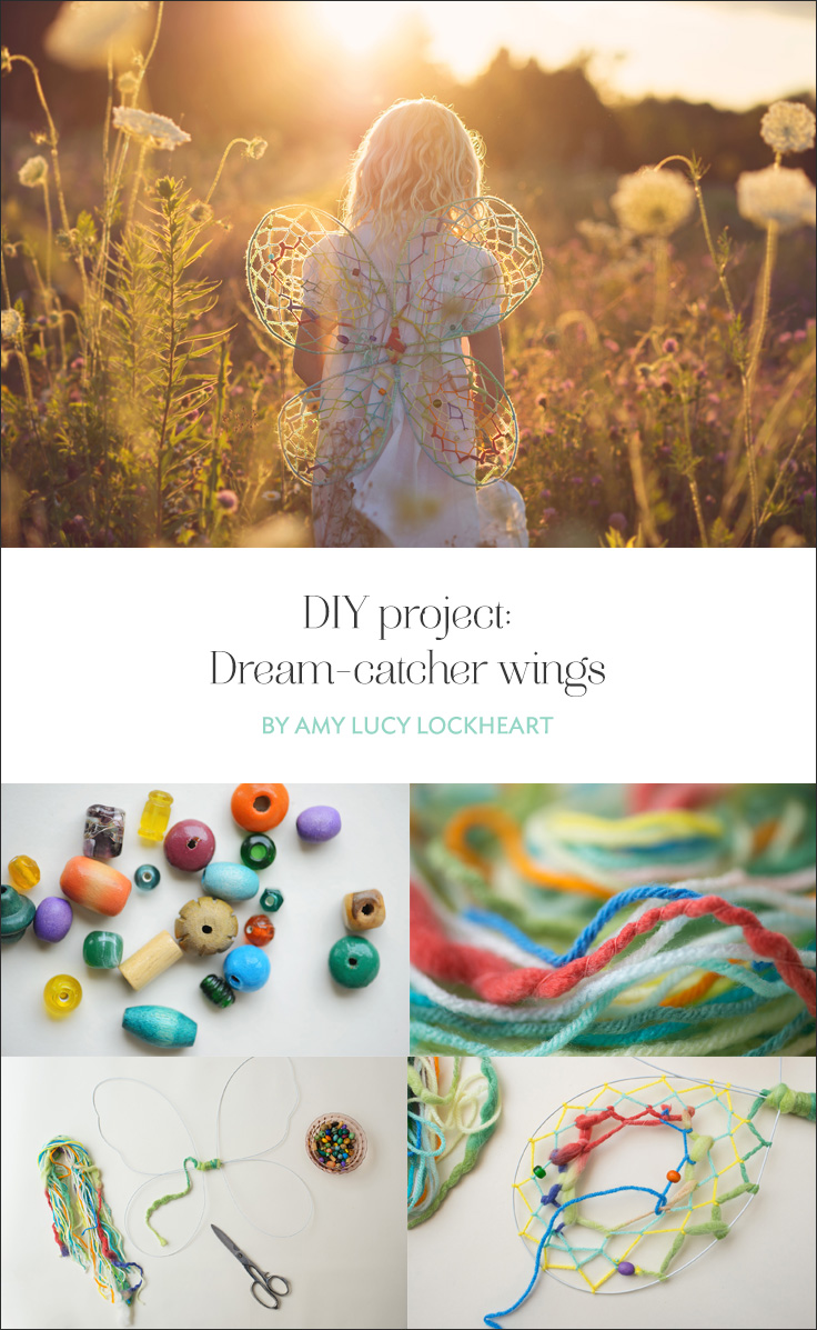 Diy Project Diy Project Dream Catcher Wings For Little Ones