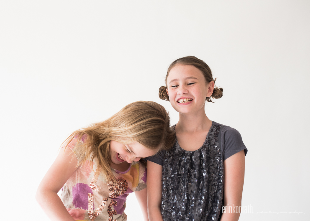 photo of two girls laughing by Erin Konrath