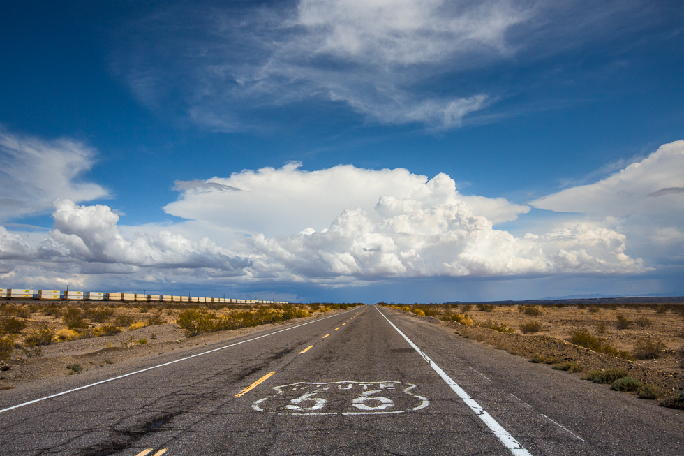 picture of Route 66 by Sally Ann Field