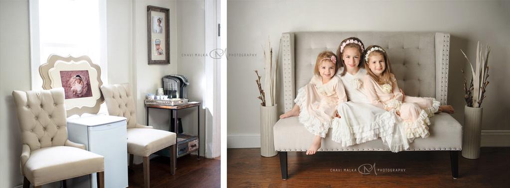 studio portraits of girls by Chavi Malka
