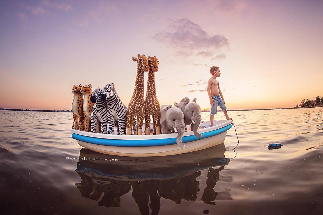Noahs Ark photo shoot by Tracy Sweeney of Elan Studio