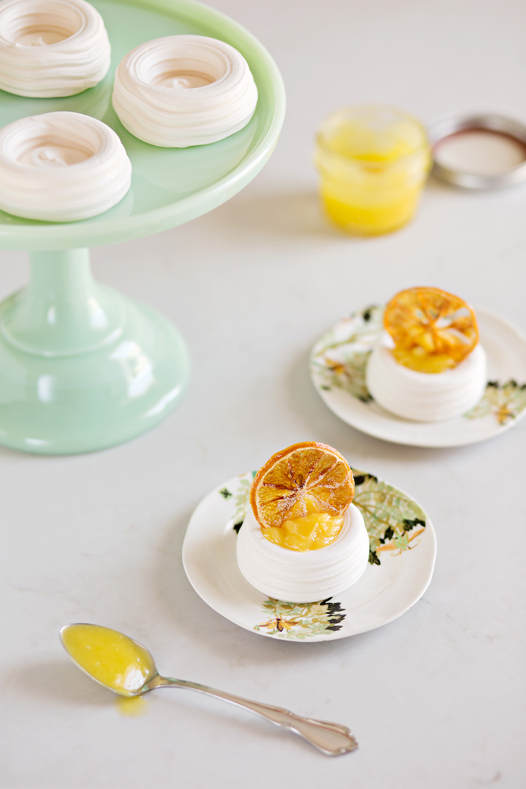 orange dessert by Elizabeth Gelineau