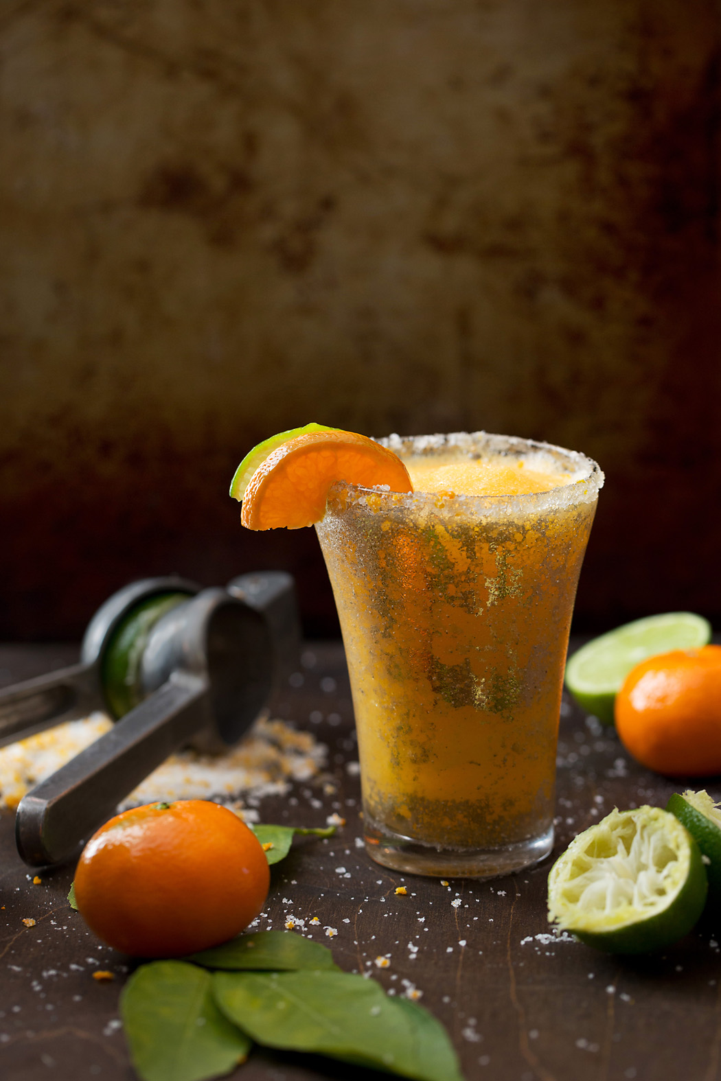 photo of orange and lime beverage by Elizabeth Gelineau