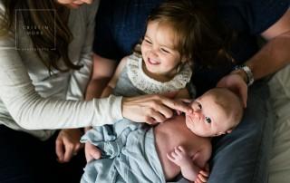 lifestyle family portrait by San Francisco photographer Cristin More
