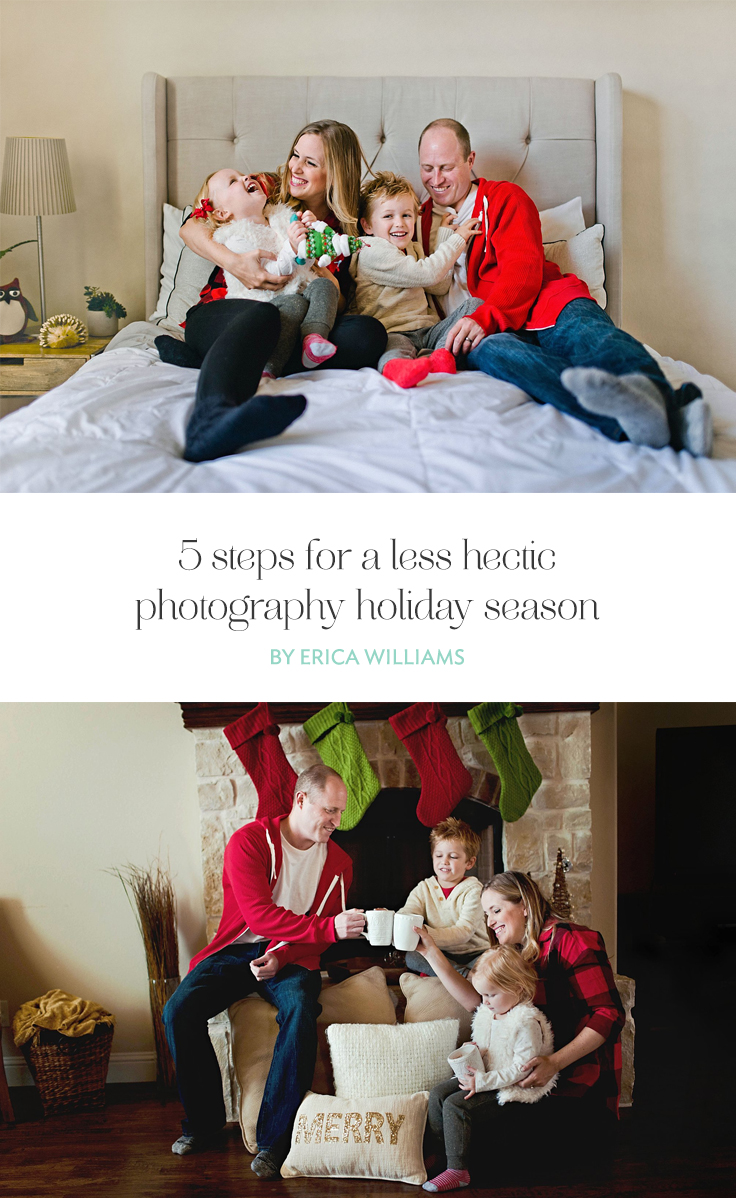 As photographers, we tell ourselves that we're going to enjoy the holidays and it never goes as planned. Let's discuss 4 steps that will help you meet your deadlines and enjoy the holidays with your family!
