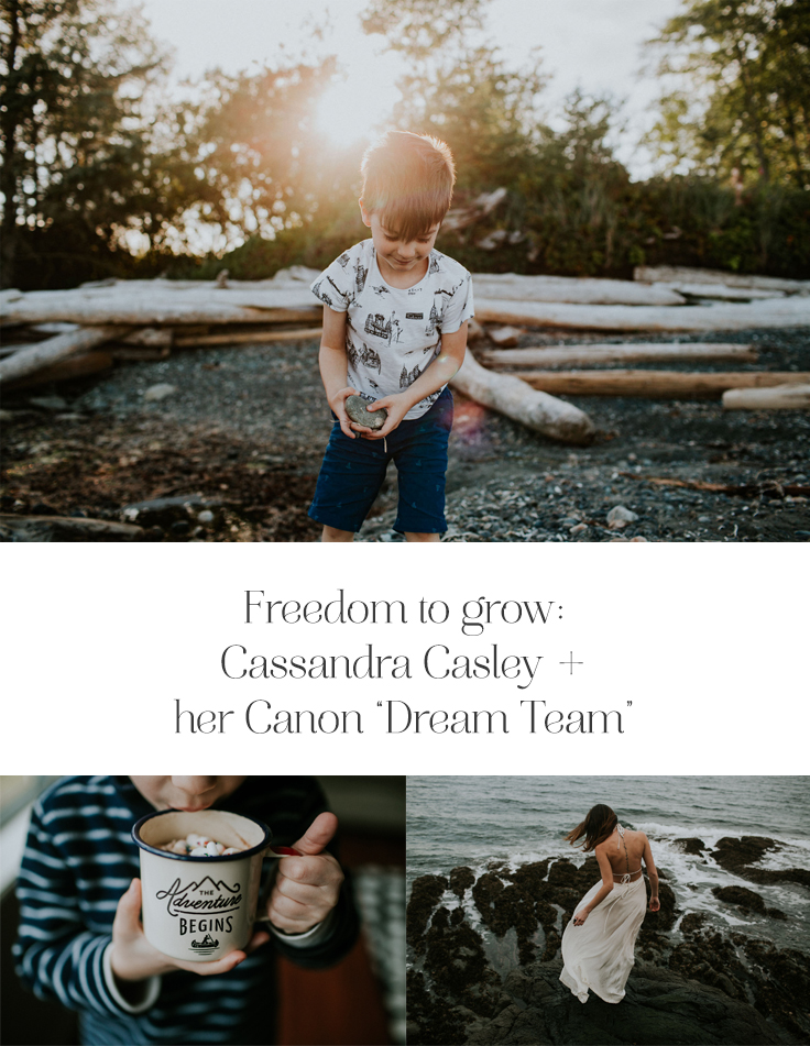 When Cassandra Casley was expecting her son in 2010, her family surprised her with her first piece of Canon gear: a suitably blue PowerShot point-and-shoot. She admits to becoming a bit obsessed with her new-found ability to capture her own beautiful baby pictures. Eventually she upgraded...